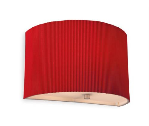 Firstlight 8632RE Red Clio Wall Light